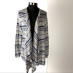 Lane Bryant Draped Cardigan Sweater Size 14/16
